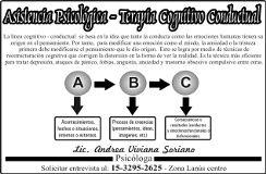 Lic. en Psicologia Andrea Soriano Lanús