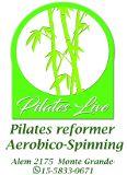 Logotipo de empresa Pilates Live
