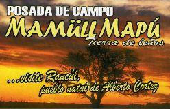 Posada de campo Mamüll Mapú Rancul